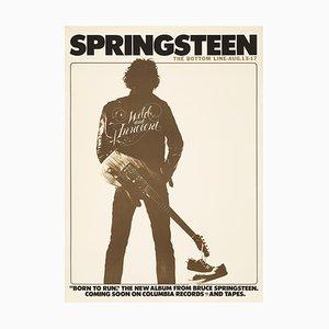Poster Bruce Springsteen, 1975