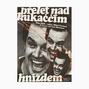 Poster One Flew Over The Cuckoo's Nest di Jan Weber, 1978