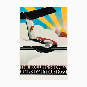 Poster The Rolling Stones di John Pasche, 1972