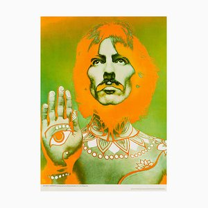 Póster de George Harrison de Richard Avedon, años 60