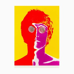 John Lennon Poster by Richard Avedon, 1960s