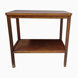 Mid-Century German Wooden Console Table, 1950s