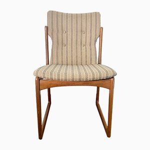Mid-Century Danish Dining Chairs from Vamdrup, Set of 4