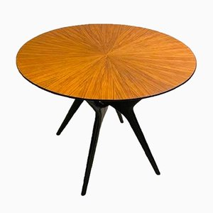 Italian Pedestal Table, 1950s