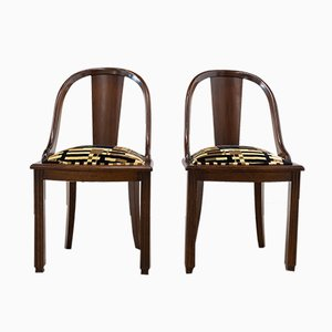Portuguese Side Chairs, 1970s, Set of 2