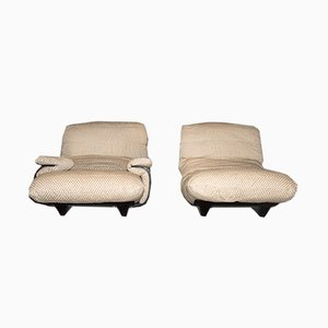 Model Marsala Chaise Lounges by Michel Ducaroy for Ligne Roset, 1972, Set of 2