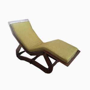 Chaise longue Mid-Century, anni '60