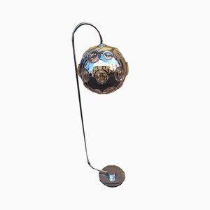 Lampadaire en Chrome et Verre par Oscar Torlasco pour Stilkronen, années 60