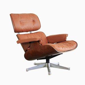 Mid-Century Sessel mit Element aus Palisander von Charles & Ray Eames für ICF De Padova, 1960er