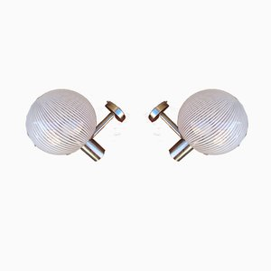 Sconces from Venini, 1960s, Set of 2