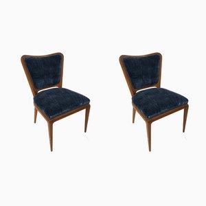 Chaises de Salle à Manger Vintage par Osvaldo Borsani, années 40, Set de 2