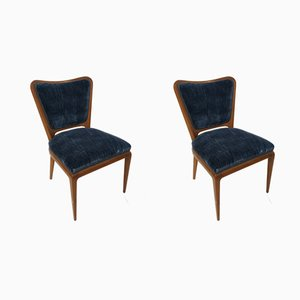 Vintage Dining Chairs by Osvaldo Borsani, 1940s, Set of 2