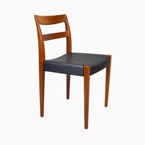 Schwedische Vintage Garmi Esszimmerstühle aus Teak von Nils Jonsson für Hugo Troeds, 1960er, 4er Set
