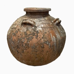 Large 18th Century French Terracotta Pot