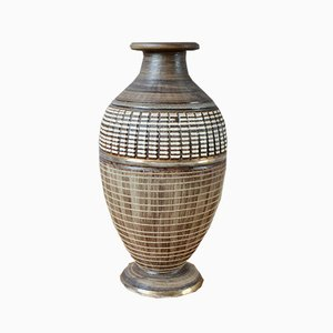 Art Deco Baluster Vase from Lucien Brisdoux, 1940s