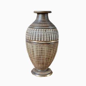 Art Déco Baluster Vase von Lucien Brisdoux, 1940er