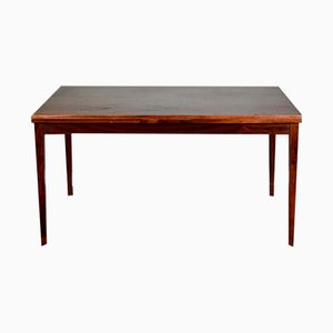Mid-Century Danish Rosewood Extendable Dining Table from Clausen & Søn