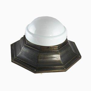 Große Art Déco Deckenlampe