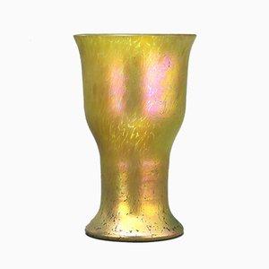 Antike irisierende Glasvase von Loetz, 1900er