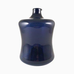 Vaso impilabile blu di Timo Sarpaneva per Iittala, anni '60