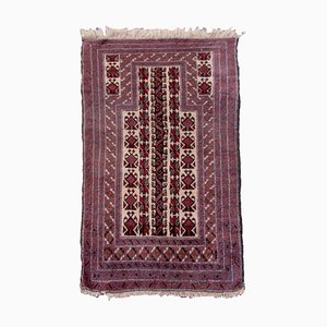 Vintage Afghan Baluch Prayer Carpet, 1940s