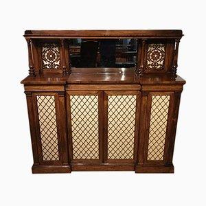 Antique Regency Rosewood Cabinet