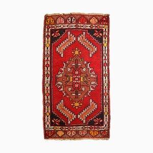 Türkischer Vintage Yastik Teppich, 1960er