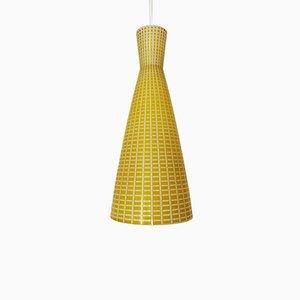 Lampe à Suspension en Verre par Aloys Gangkofner pour Peill & Putzler, années 50