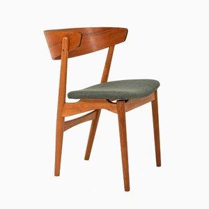 Mid-Century Esszimmerstühle von Helge Sibast für Sibast, 6er Set