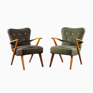 Austrian Armchairs, 1950s, Set of 2
