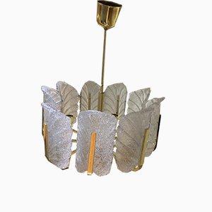 Lámpara de araña de Carl Fagerlund para Orrefors, años 60