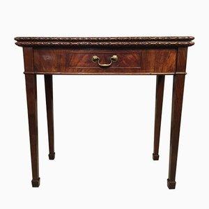 Antique George II Mahogany Fold Over Tea Table
