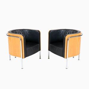 Fauteuils Style Bauhaus de Thonet, Allemagne, années 2000, Set de 2