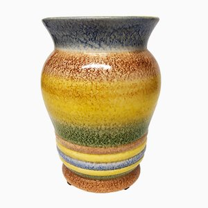 Futurist Vase by Diulgheroff Nicolaj for M.G.A. Albisola, 1930s