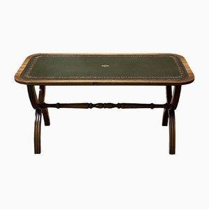 Vintage English Mahogany & Teak Coffee Table