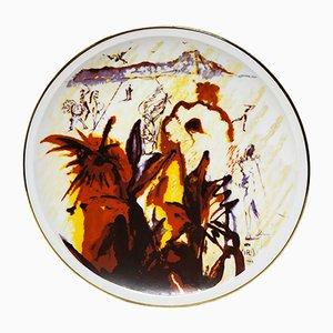Piatto nr. 315 di Salvador Dalì, anni '80