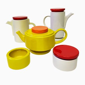 Postmodern Ceramic Set from SIC, 1970s