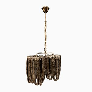 Vintage Deckenlampe von Toso für Fratelli Toso