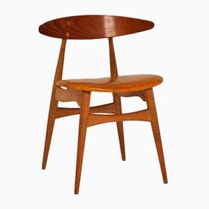 Chaise de Salle à Manger Modèle CH33 par Hans J. Wegner pour Carl Hansen & Søn, 1959