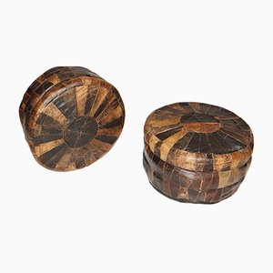 Mid-Century Poufs from de Sede, Set of 2