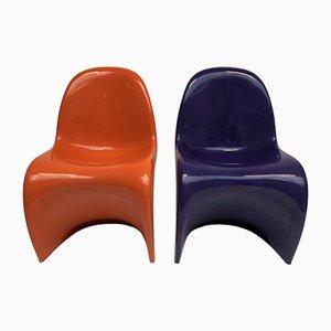 Chaise de Salle à Manger par Verner Panton pour Herman Miller, 1971