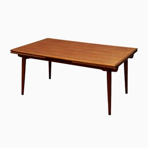 Large Teak Dining Table by Hans J. Wegner for Andreas Tuck, 1969