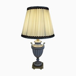 Verzierte Tischlampe aus Porzellan von Mangani, 1970er