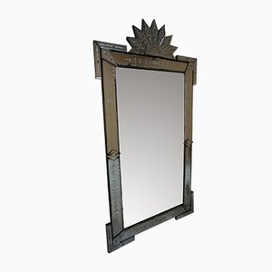 Large Art Deco Italian Mirror, 1920s