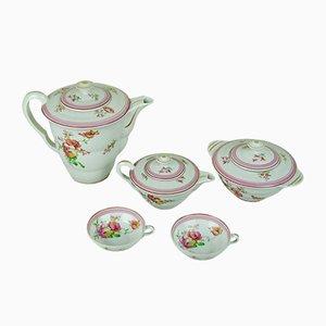 Servizio da tè di Limoges, anni '50, set di 5