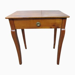 Antique Empire Cherry Console Table, 1900s