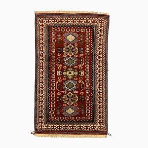 Türkischer Vintage Bergama Teppich