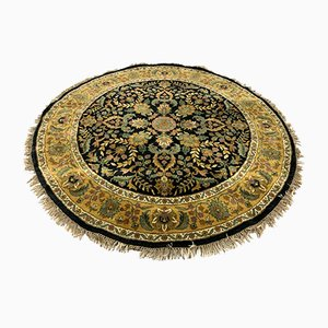 Vintage Round Agra Rug