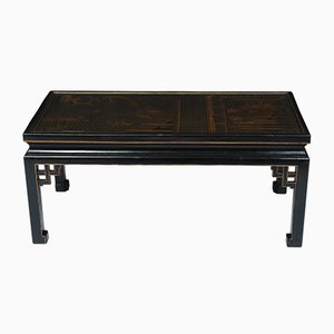 Lacquered and Gilt Chinoiserie Coffee Table, 1920s