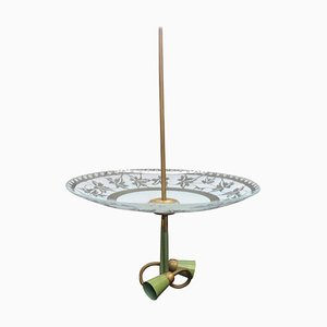 Lampe à Suspension Mid-Century de Stilnovo, Italie, années 50